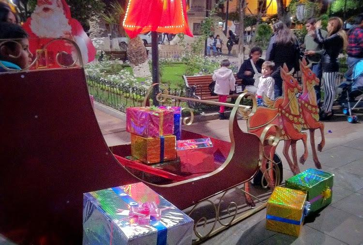 navidad christmas sucre bolivia 3