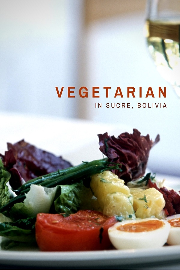 vegetarian restaurants sucre bolivia
