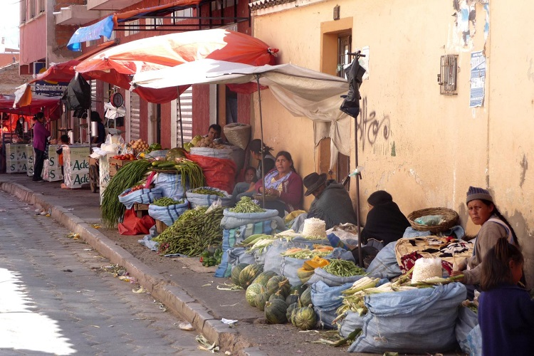 Auto Parts Market >> Sucre's Colourful Markets - Sucre Bolivia