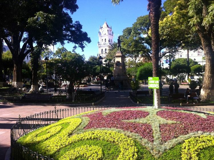 plaza 25 de may sucre bolivia