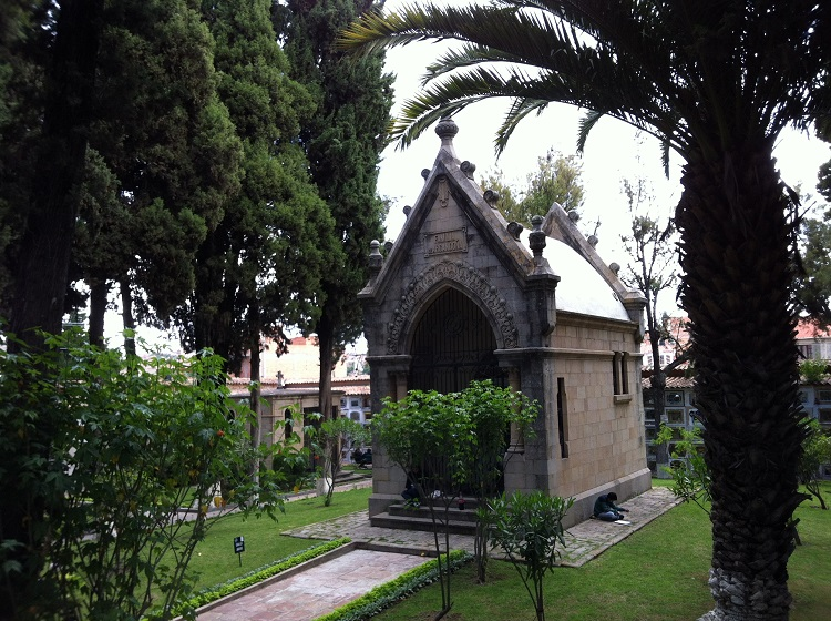 The General Cemetery sucre bolivia