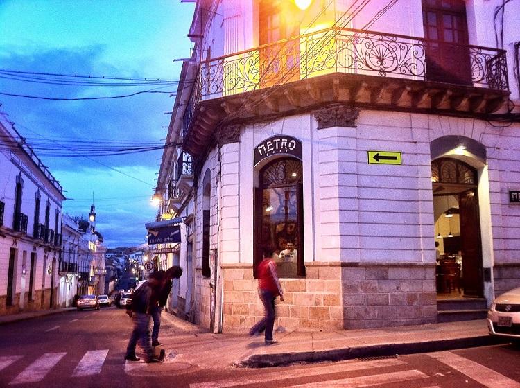 metro cafe sucre bolivia