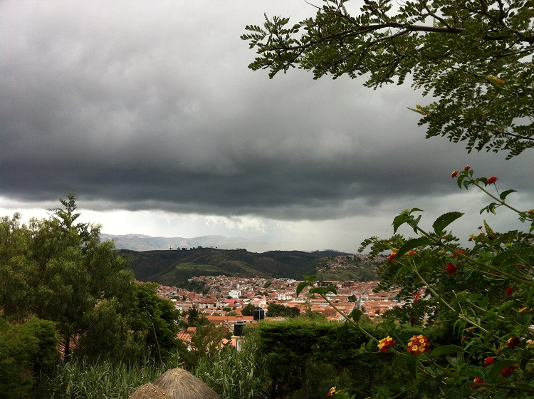 weather in sucre bolivia