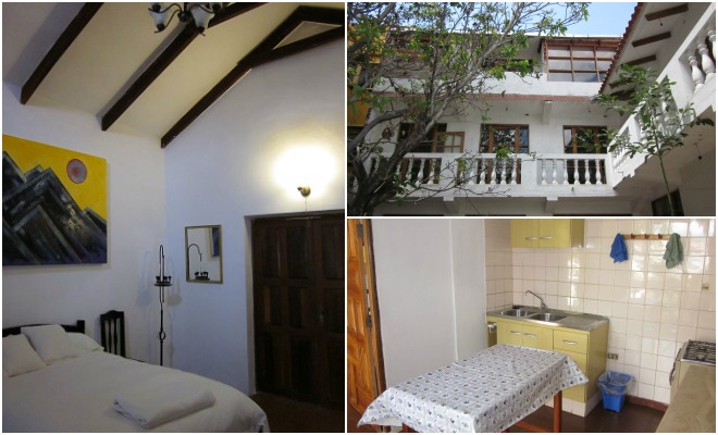 beehive hostel sucre collage