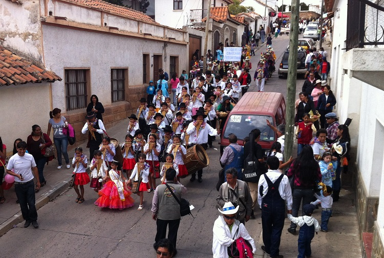 carnaval of yesteryear sucre bolivia 4