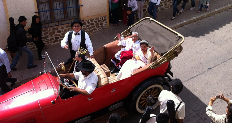 carnaval of yesteryear sucre bolivia