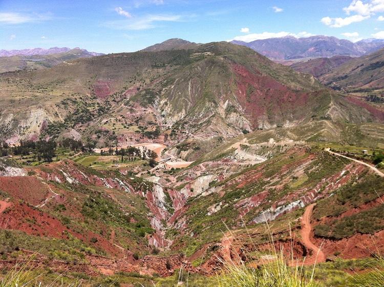 margaua trek sucre bolivia 2