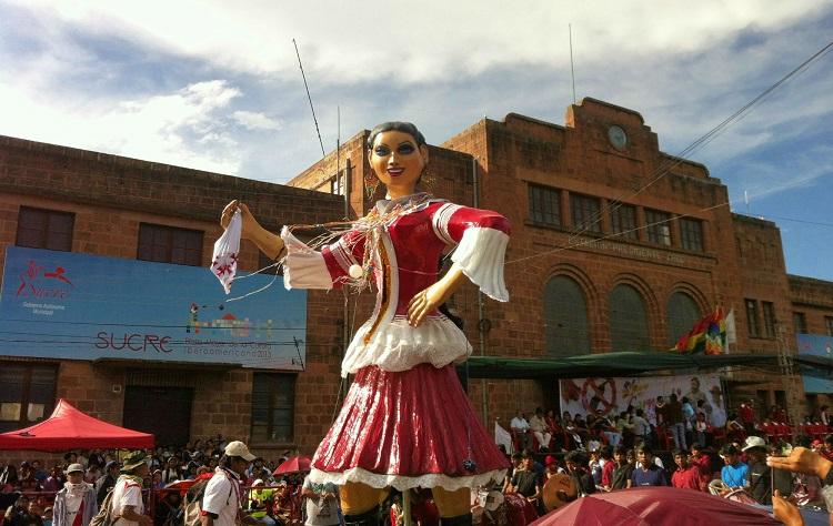 carnaval sucre bolivia