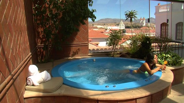 spa with a view sucre bolivia