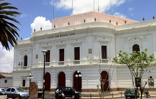 theater sucre bolivia