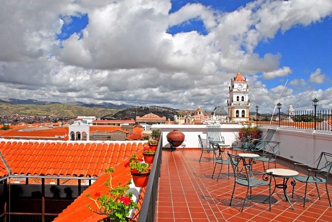 Hotel Parador Santa Maria La Real sucre bolivia 3
