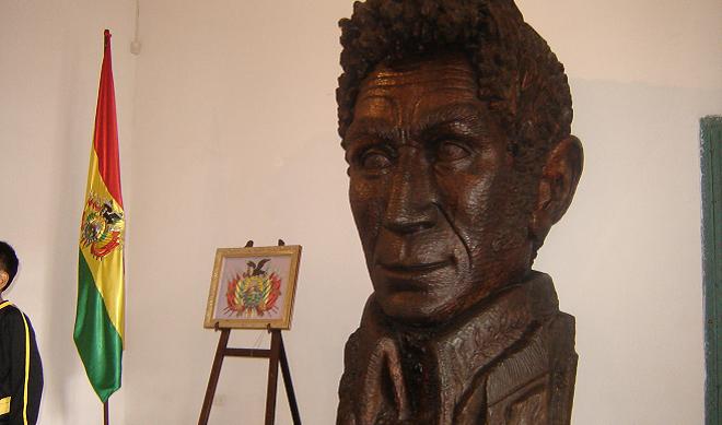 Presidente de Bolivia casa de la libertad sucre bolivia