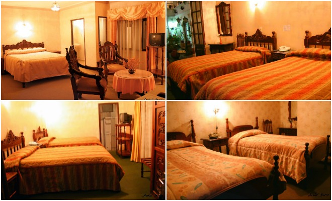 hostel sucre bolivia collage
