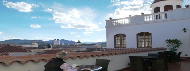 los tejados spa rooftop terrace