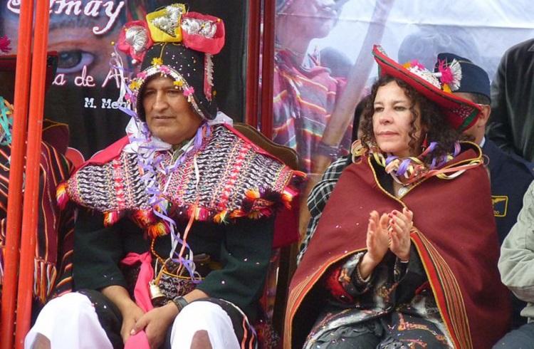 Pujllay festival tarabuco sucre bolivia