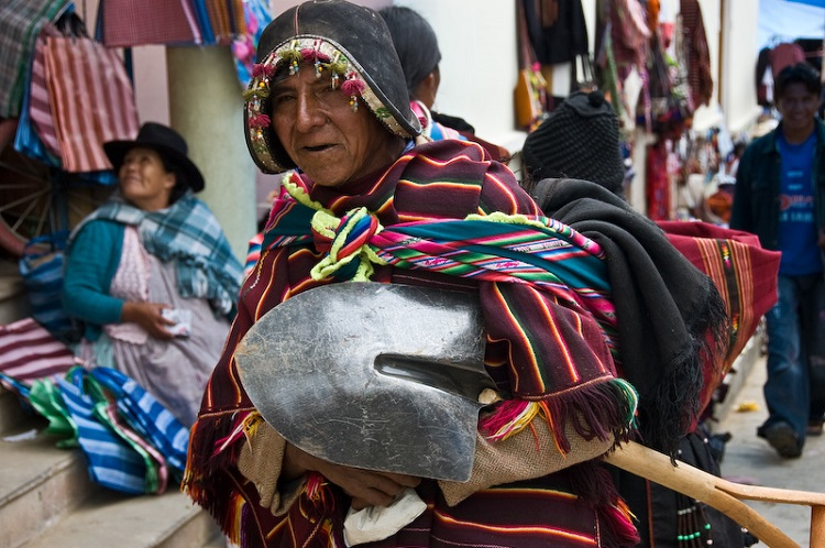tarabuco market sucre bolivia 2