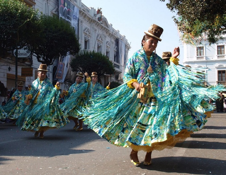 Virgen de Guadalupe Festival sucre bolivia 2